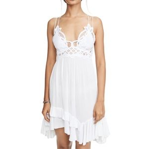 NWT 💐Free People Adella Slip Dress White FINAL💲